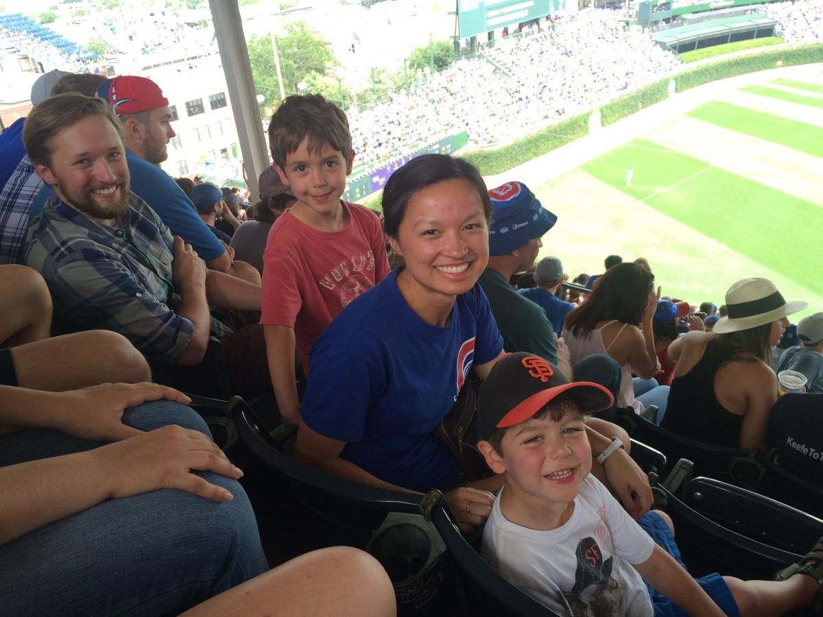 Cubs Game Aug 13 2015