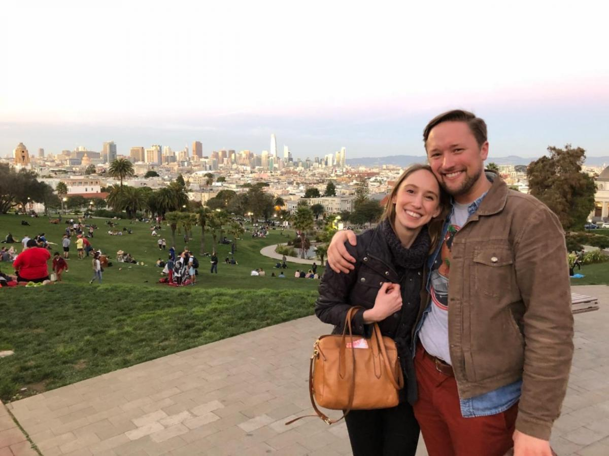 Erik and Jess met up in San Francisco! (February 2017)